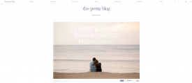 Pretty Blog Feature