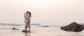 Christy and Wayne sunrise, sunset love session